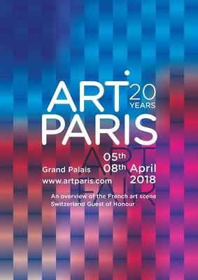 Art Paris Art Fair 2018 : Affiche