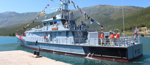 Albanian ship Oriku rescues 36 Afghans in the Aegean sea
