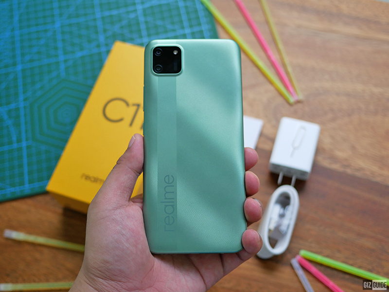 realme C11 did not compromise design and build