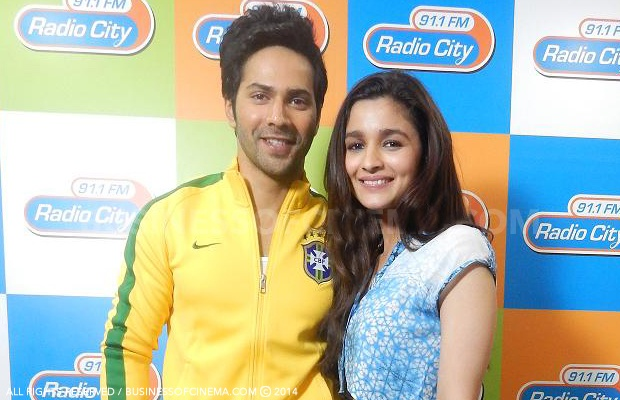 Alia Bhatt And Varun Dhawan Promote Humpty Sharma Ki Dulhania Movie