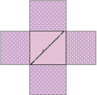 Lilac and Polka Dots: Free Printable Boxes.