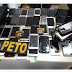 Roubados no Arraiá do Santo Antônio de Quixabeira, 30 celulares ainda se encontram na delegacia para devolução