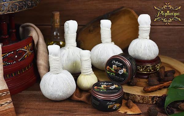 Thai Herbal Compress massage Ball brand Ploythaispa