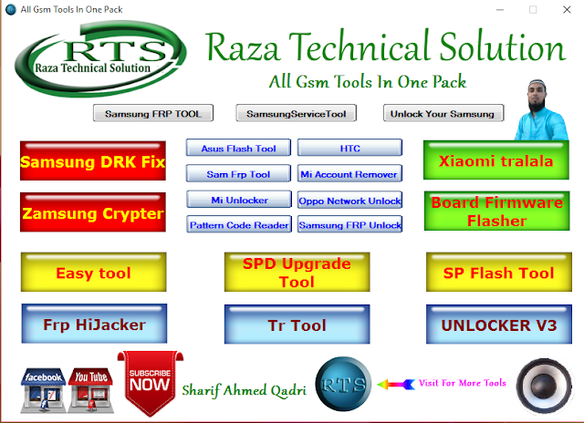 All Gsm Tools In One Pack By Raza Technical Solution