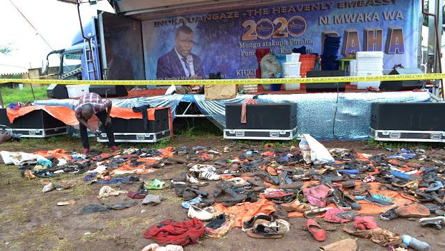 """Al menos 20 fieles mueren pisoteados en Tanzania al intentar tocar un aceite """"curativo"""""""
