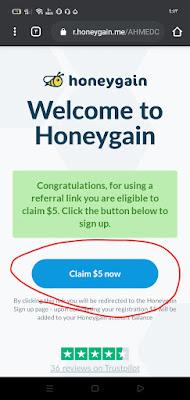 الربح من الانترنت |ربح المال مجانا عن طريق تطبيق honeygain