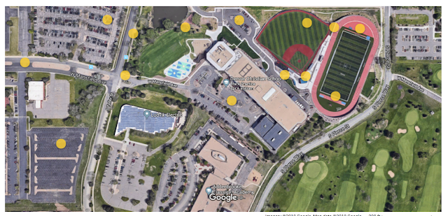 Turf Baseball and Football Field and Fast Track