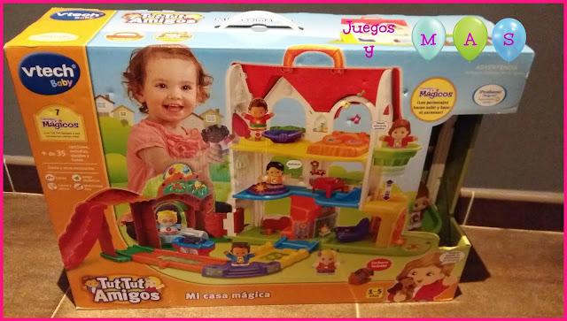 mi casa magica, vtech, tut tut amigos, juguetes, 1-5 años