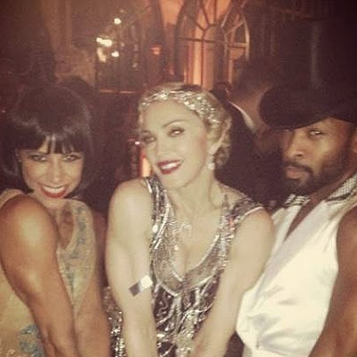 Madonna and guests of the evening