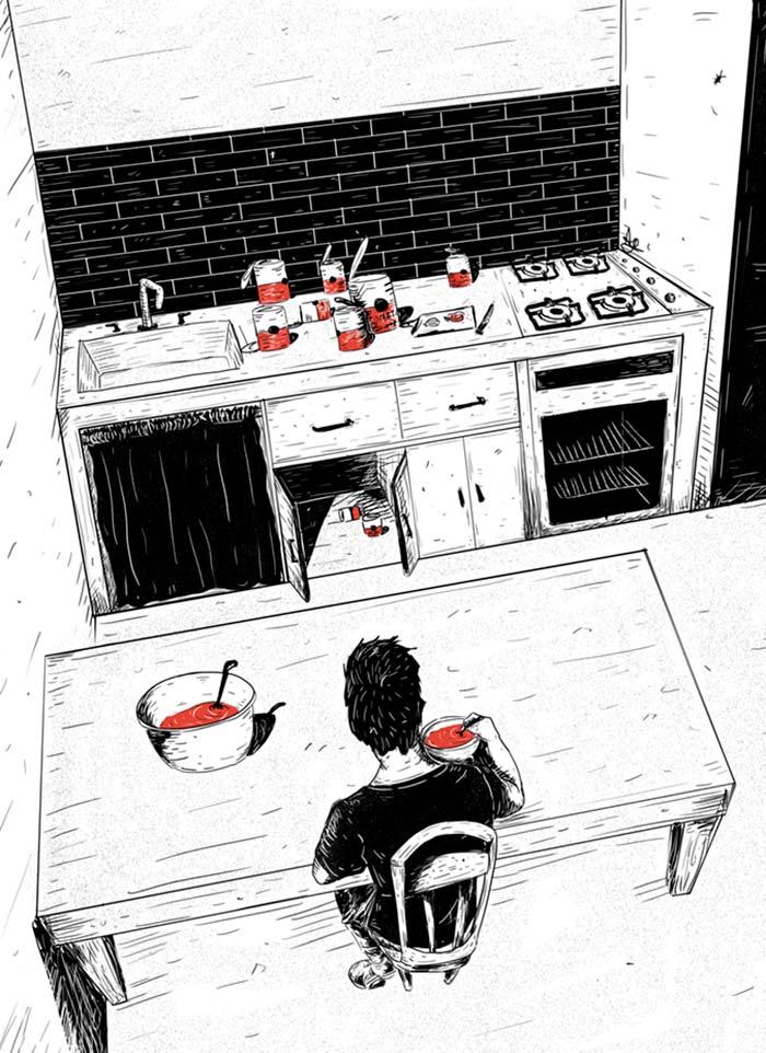Ilustración, Tomate de Ana María Guarín