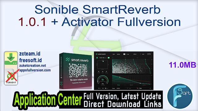 Sonible SmartReverb 1.0.1 + Activator Fullversion