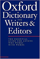 Oxford Dictionary for Writers & Editors
