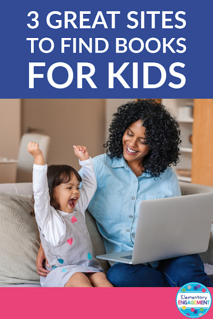 Three Great Sites to Find Books for Kids