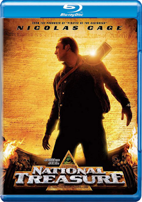 National Treasure 2004 480p 300MB Blu-Ray Hindi Dubbed Dual Audio [Hindi – English] MKV