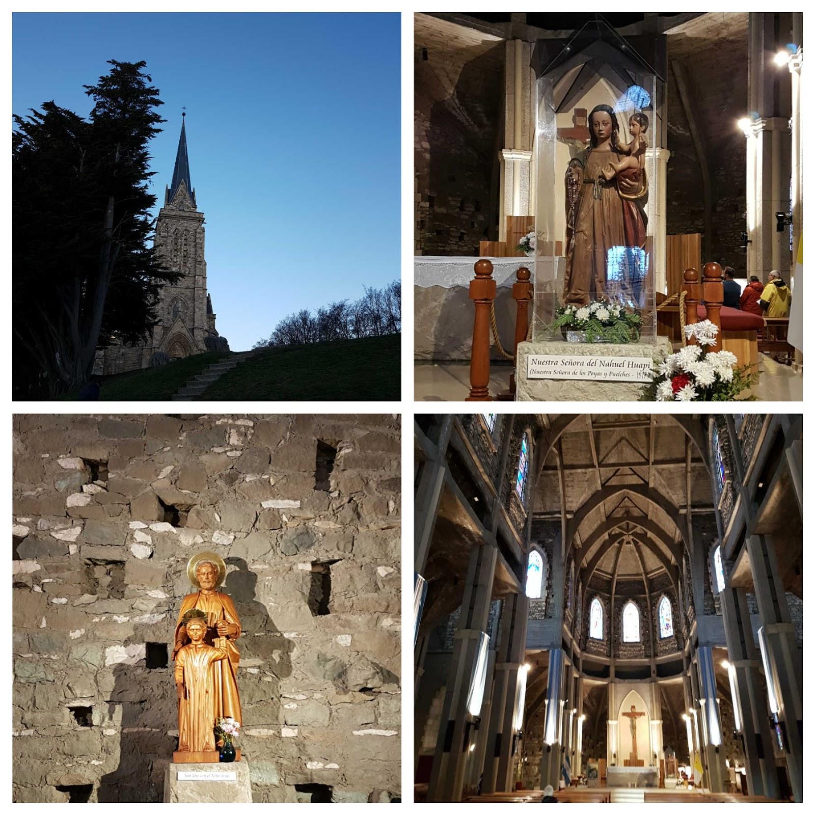 Catedral de Bariloche Nossa Senhora de Nahuel Huapi.