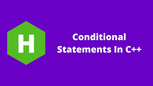 HackerRank Conditional Statements in c++ problem solution