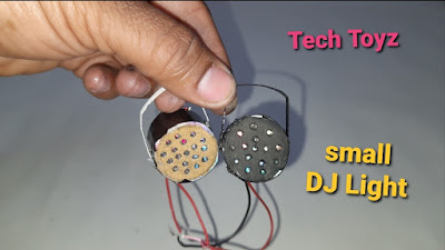 how to make small DJ Lights at home