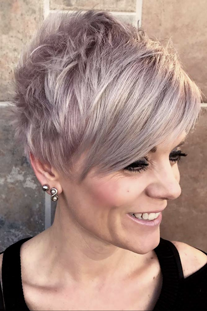 2019 , 2020 Short Hairstyles for Women Over 50 That Are Cool