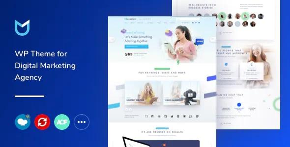 Best Digital Marketing WordPress Theme