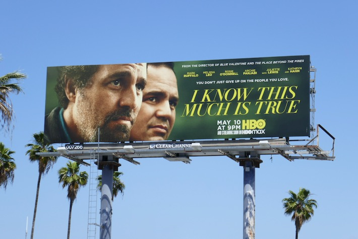 I Know This Much Is True HBO series billboard