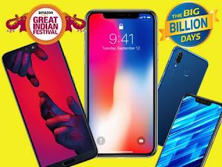 Flipkart 'Big Billion Days Diwali sale 2019' offers discounts on Smartphones