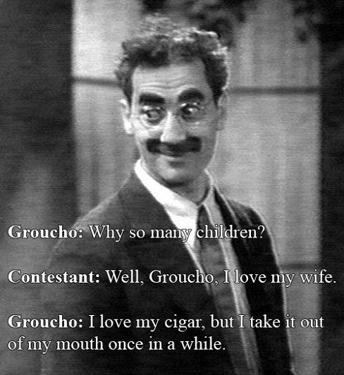 Groucho Marx - 10 Cigar Jokes Only Cigar Lovers Will Get