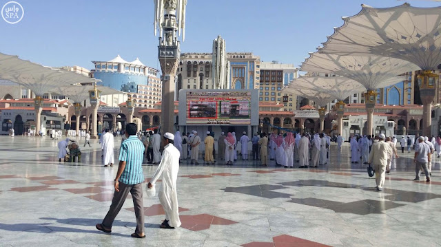 beranda masjid annabawi