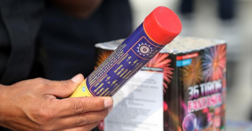NAVIDAD 2020: Nadie puede vender ni comprar pirotécnicos o fuegos artificiales, advierte SUCAMEC - www.sucamec.gob.pe