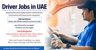 Light Vehicle Driver For Garage & Transport in Ras Al Khaimah, UAE    Salary AED 1501-2000