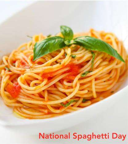 National Spaghetti Day Wishes pics free download