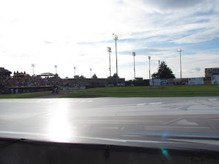First pitch, Red Sox vs. Hillcats