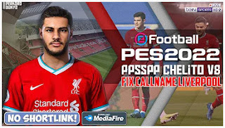 Download eFootball PES 2022 PPSSPP New Background Fix Callname & Commentary English