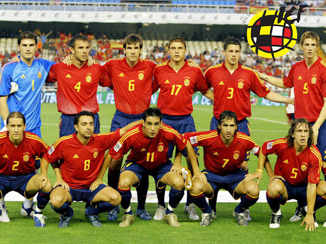 Spanish Football team