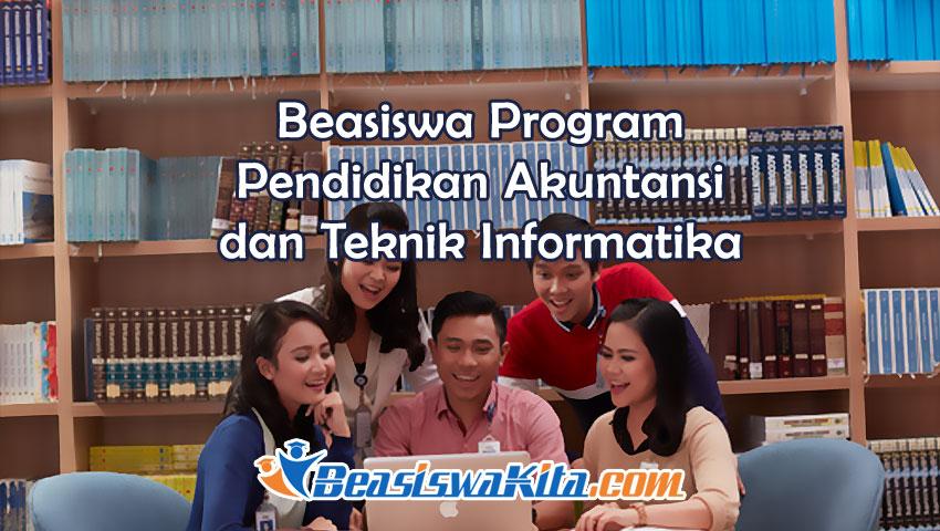 Program Pendidikan Akuntansi Dan Teknik Informatika Dari Bca Beasiswa Kita