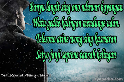 alternative Quotes Patah Hati dari Lirik banyu langit