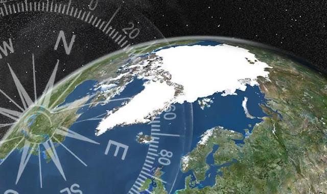 Με 50 χλμ το χρόνο μετακινείται προς τη Σιβηρία ο μαγνητικός βόρειος πόλος
