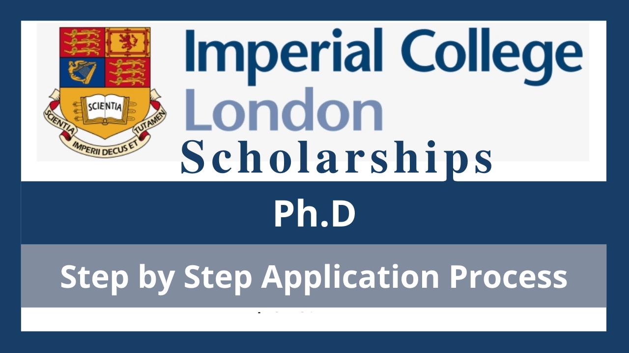 منحة إمبريال كوليدج لندن لدرجة الدكتوراة 2022 (ممولة بالكامل)