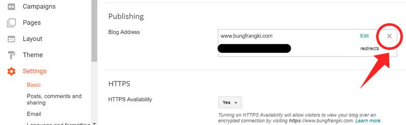Tidak Bisa Centang Redirect non WWW to WWW