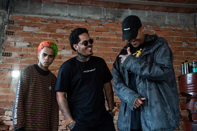 """Assista o clipe """"UFO Gang"""", com participação de MC D, Chambrall e Semente"""