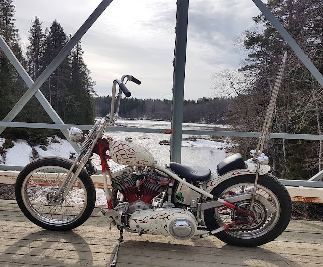 Harley Davidson Panhead By Myarms Yourhearse Hell Kustom