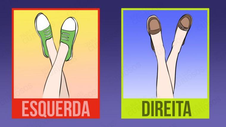 A forma como você cruza as pernas revela algo sobre você