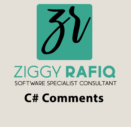 Ziggy Rafiq C# Comments Blog Post