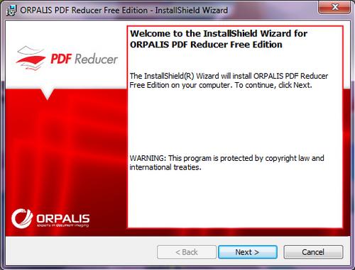 Cara Kecilkan Ukuran PDF Dengan ORPALIS PDF Reducer