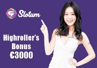 Slotum no deposit bonus