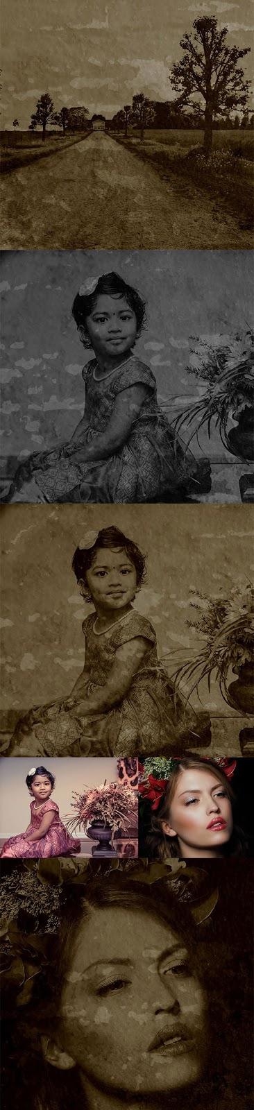 Vintage  Old Photo Effect 26444506