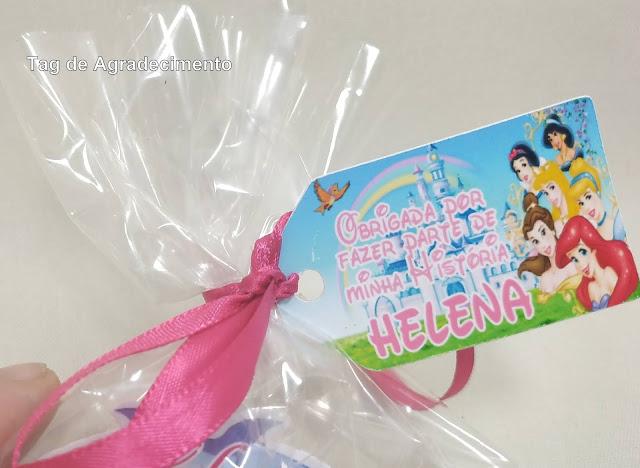 Tag As Princesas  Disney dicas e ideias para decoração de festa personalizados