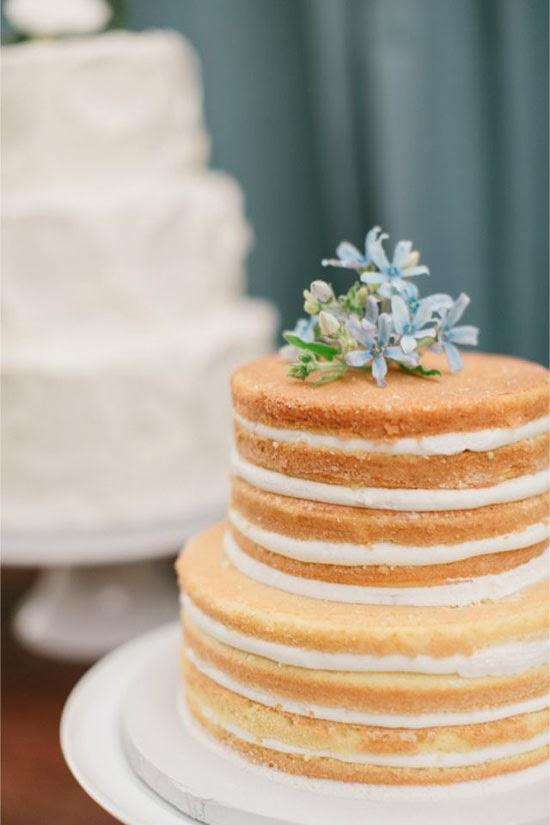 Naked Cake Icing Tutorial  Layers