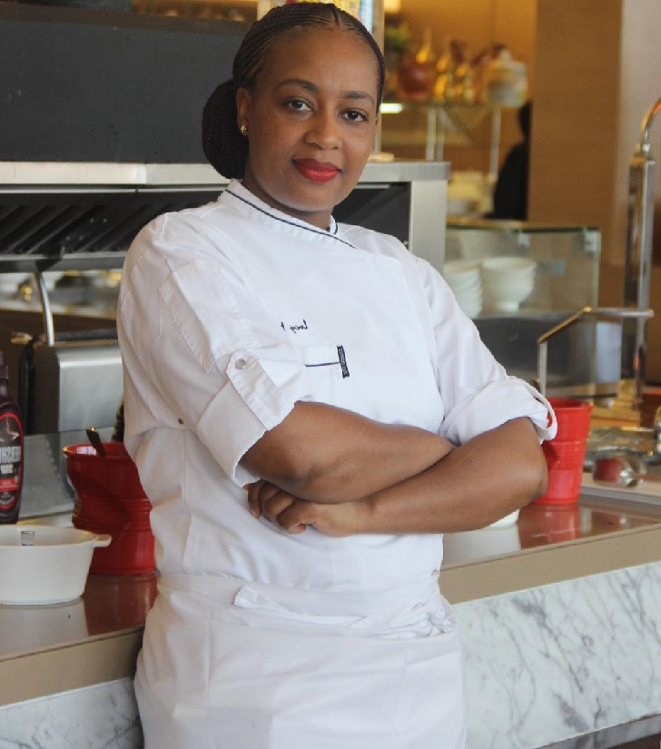 Meet Chef Lucy Mwangi, Junior Sous Chef at Marriott Hotel Al Forsan!