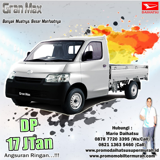 promo daihatsu granmax pick up