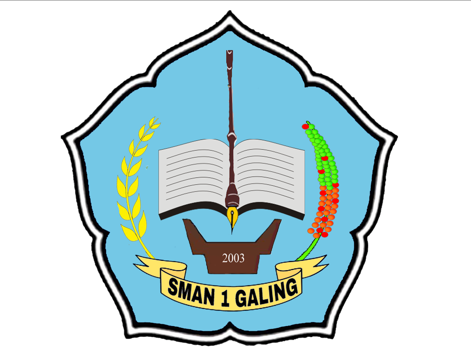 Kelas Xi Ipa Sman 1 Galing 2016 2017 Lambang Sman 1 Galing